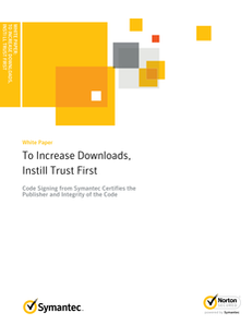 To Increase Downloads Instill Trust First