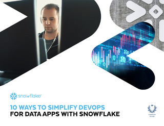 10 Ways to Simplify Devops for Data Apps with Snowflake
