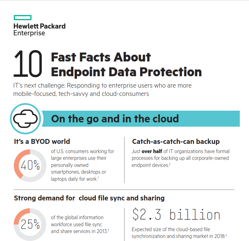 10 Fast Facts About Endpoint Data Protection