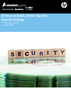 10 Ways to Build a Better Big Data Security Strategy