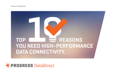 Top 10 Reasons You Need High Performance Data Connectivity