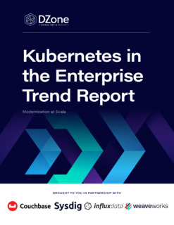 Kubernetes in the Enterprise Trend Report