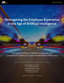Reimagining the Employee Experience in the Age of Artificial Intelligence
