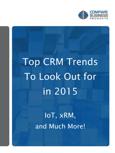 Top CRM Trends to Look Out for in 2015