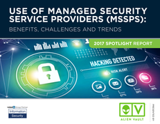 2017 Spotlight Report – Use of Managed Security Service Providers (MSSPS)