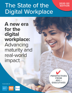 2020 Report: The State of the Digital Workplace