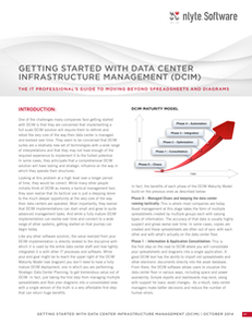 Getting Started with Data Center Infrastructure Management (DCIM)