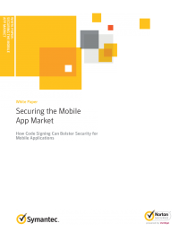 Securing the Mobile App Market: How Code Signing Can Bolster Security for Mobile Applications