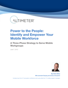 Power to the People: Identify and Empower Your Mobile Workforce