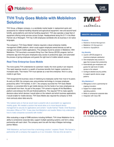 TVH Truly Goes Mobile with MobileIron Solutions