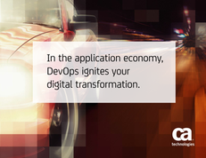 In the Application Economy, DevOps Ignites Your Digital Transformation
