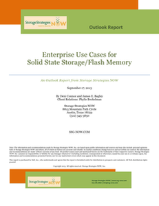 Enterprise Use Cases for Solid State Storage/Flash Memory