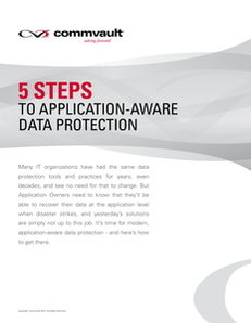 5 Steps to Application-Aware Data Protection