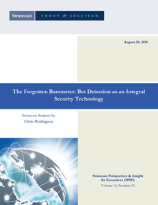 Frost & Sullivan Report – The Forgotten Barometer: Bot Detection as an Integral Security Technology