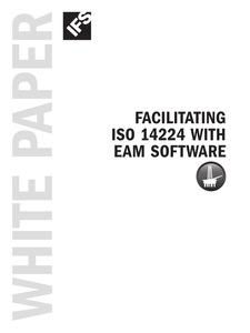 Facilitating ISO 14224 with EAM