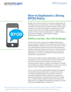 How to Implement a Strong BYOD Policy