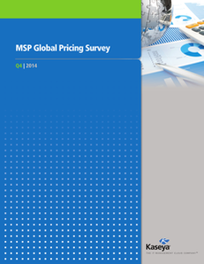 MSP Global Pricing Survey 2014 Report
