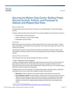 Securing the Modern Data Center