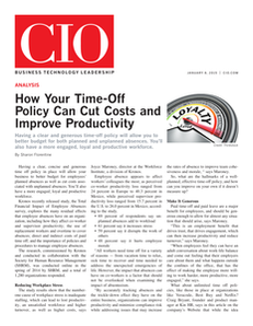 How Your Time-Off Policy Can Cut Costs and Improve Productivity