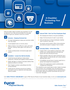 16-Point Checklist to Begin Business Protection