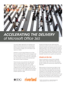 Accelerating the Delivery of Microsoft Office 365