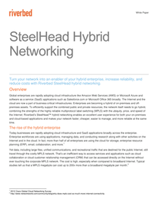 SteelHead Hybrid Networking