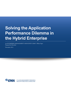 Solving the Application Performance Dilemma in the Hybrid Enterprise
