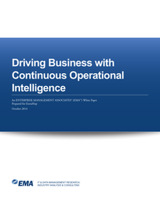 Driving Business with Continuous Operational Intelligence