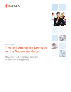 Time and Attendance Strategies for the Modern Workforce