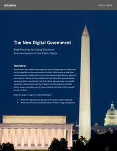 Best Practices for Using Electronic Communications In The Public Sector