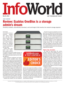 InfoWord Product Review: Exablox OneBlox Network Attached Storage