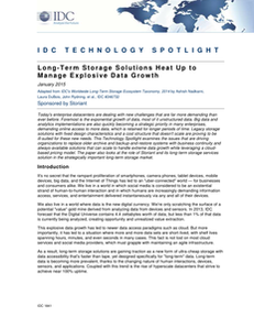 Long-Term Storage Solutions Heat Up to Manage Explosive Data Growth