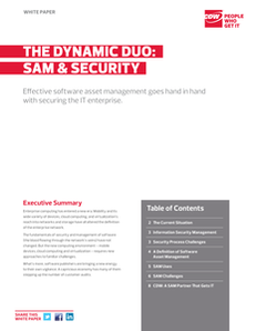 The Dynamic Duo: SAM & Security