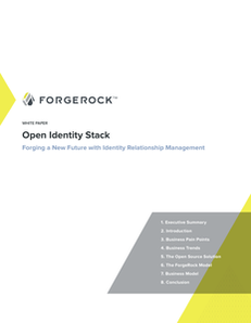 Open Identity Stack: Forging a New Future with Identity Relationship Management