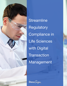 Streamline Regulatory Compliance in Life Sciences with Digital Transaction Management
