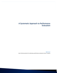 Best Practices for Conducting a Performance Evaluation of Your IT Systems