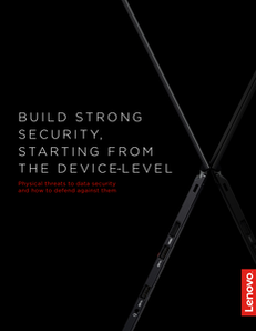 Build Strong Security, Starting From the Device-Level