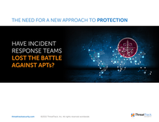 Losing the Battle – The Need for a New Approach to Advanced Protection