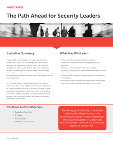 Path Ahead for Security Leaders