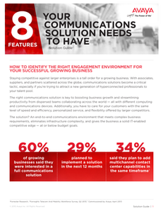 8 Features Your Communications Solution Needs To Have
