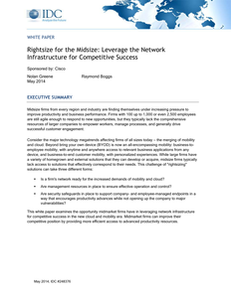 Rightsized for Midsize: Leverage the Network Infrastructure for Competitive Success