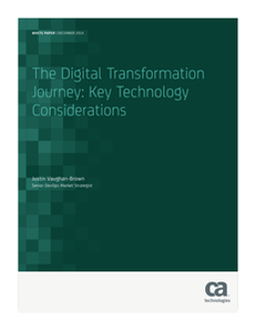 The Digital Transformation Journey: Key Technology Considerations