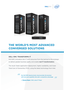 The World's Most Advanced Converged Solutions