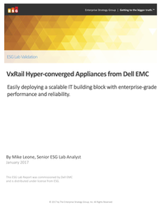 VxRail Hyper-converged Appliances from Dell EMC
