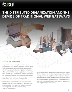 The Distributed Organization and the Demise of Traditional Web Gateways