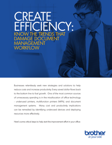 Create Efficiency: Know the Trends that Damage Document Management Workflow