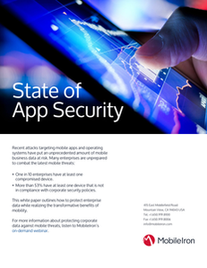 State of App Security