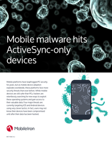 Mobile Malware hits ActiveSync-only Devices