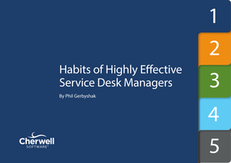 5 Habits of Effective Service Desk Managers
