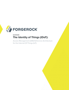 Access Management (IAM) Reference Architecture for the Internet Of Things (IoT)